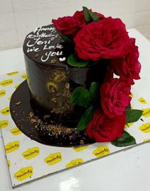 Real Rose Delight Cake